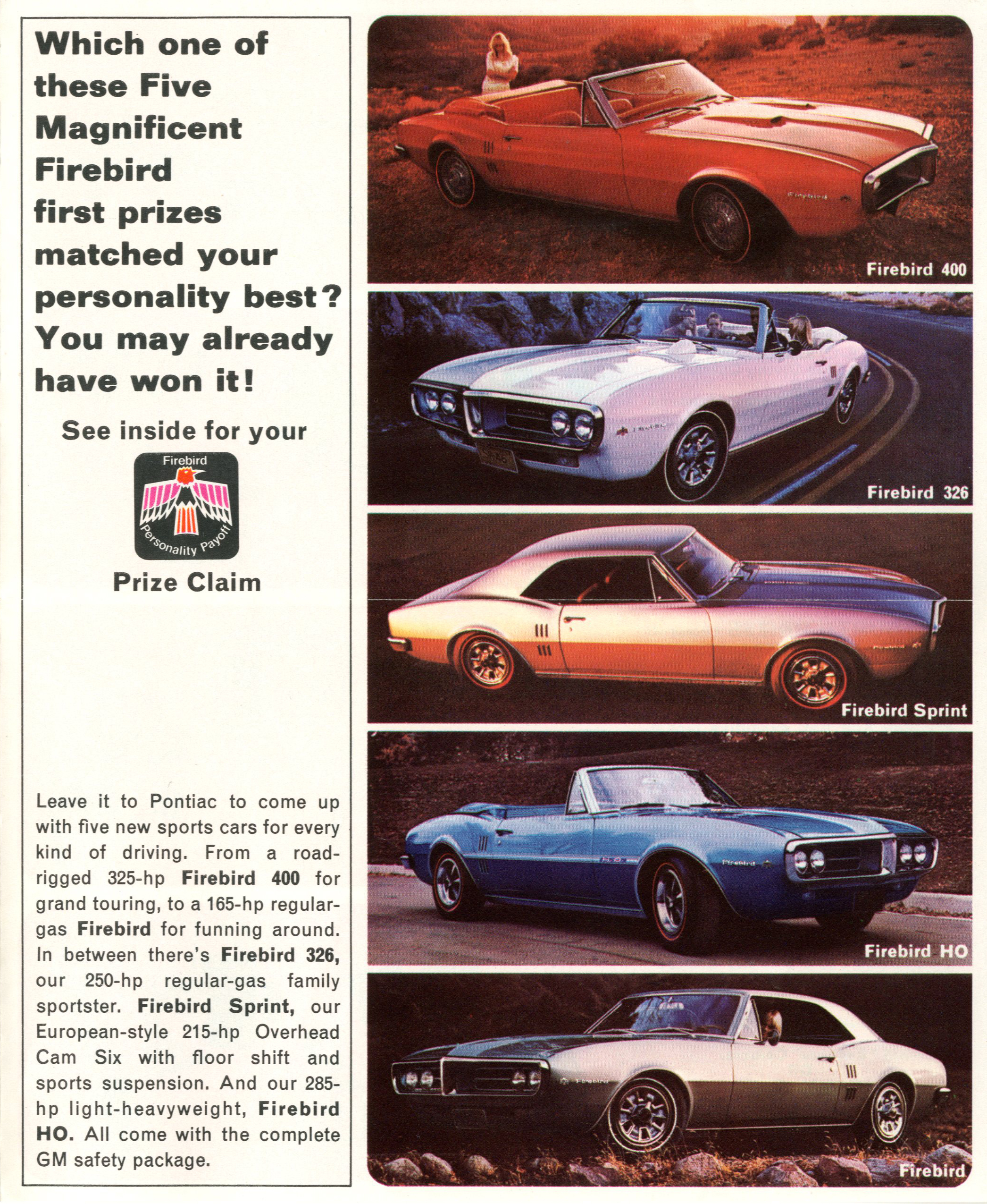 Check out vintage Firebird advertising!