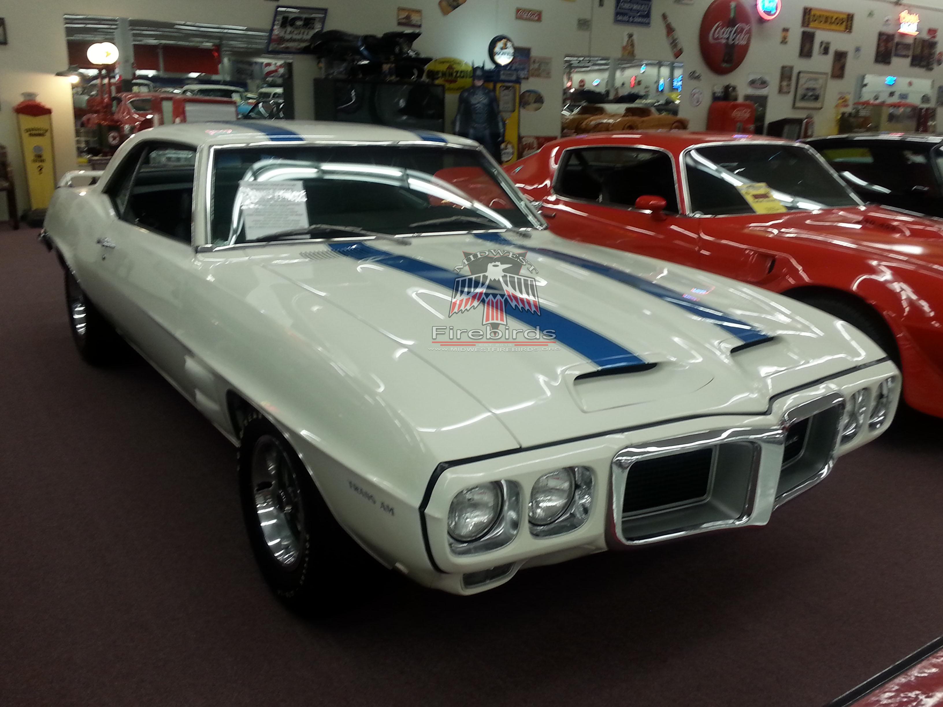 1969 Firebird Trans Am Muscle Car City Midwest Firebirds