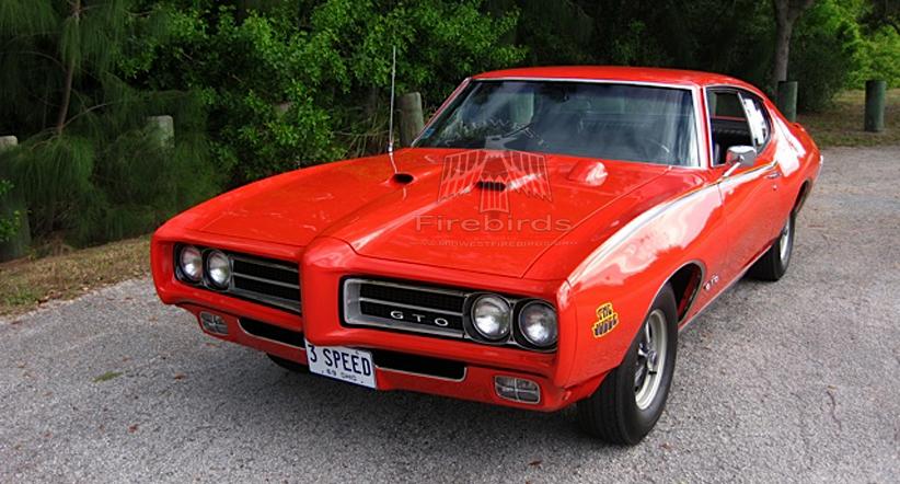 Scott S. owns this 1969 Pontiac GTO Judge.