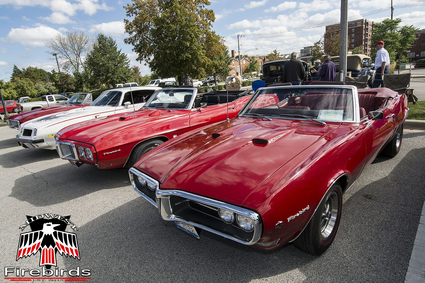 The MWF club cruised to the Motoring at the Musuem car show in Arlington Heights, IL.