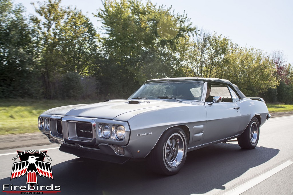 Matt's silver '69 Firebird is a fine example of a TA tribute!