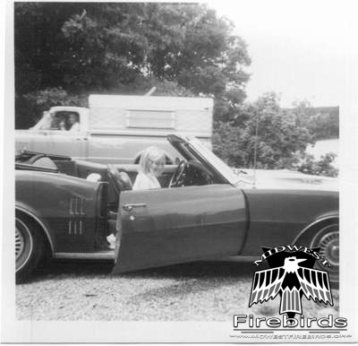 This 1968 Pontiac Firebird 400 HO Convertible is still with the original owner.