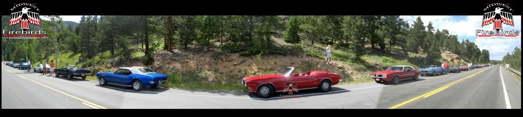 The Firebird returns to Colorado for the 1st Gen Firebird Cannonbird Run. August 2010