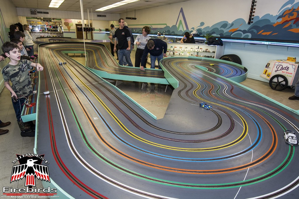 The Midwest Firebird club enjoyed racing at Dad's Slot Cars, in Des Plaines, IL.