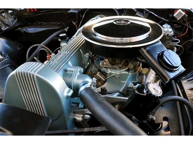 A Spring 6 engine in a 1969 Firebird.