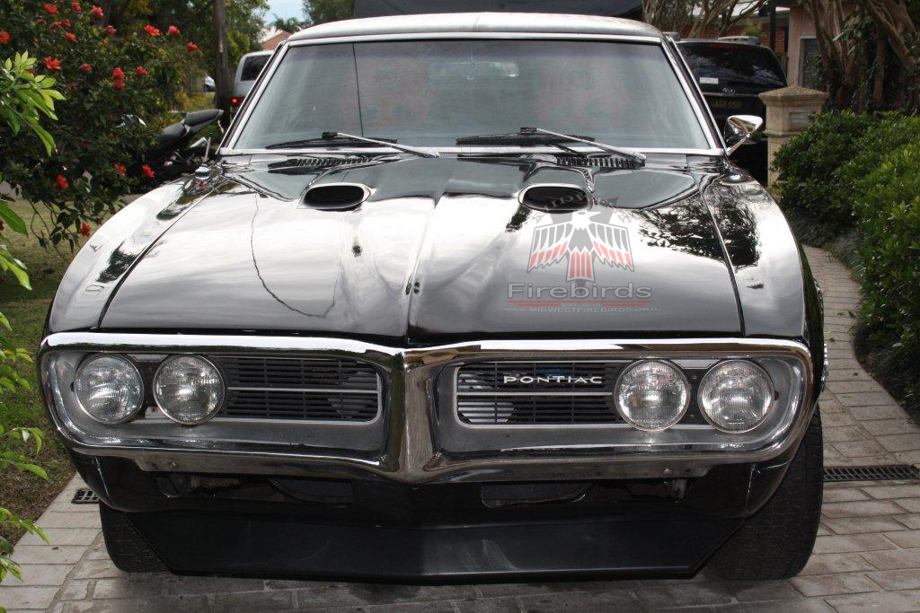 This 1967 Pontiac Firebird was purchased and shipped to Sydney, Australia.