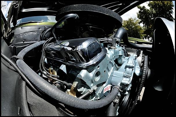 mecum RA II Indy engine