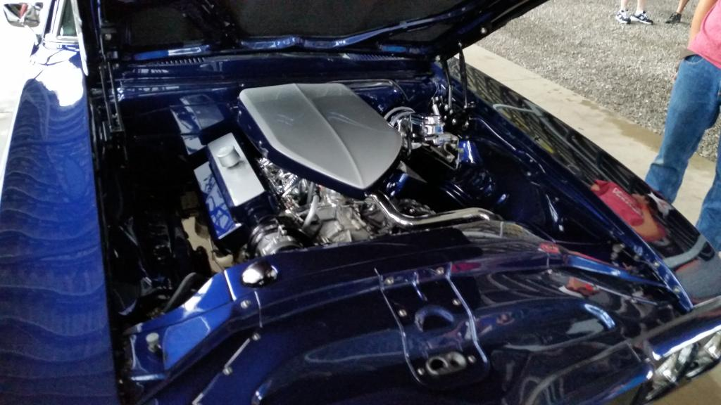 Amr - 69 bright blue resto mod  engine