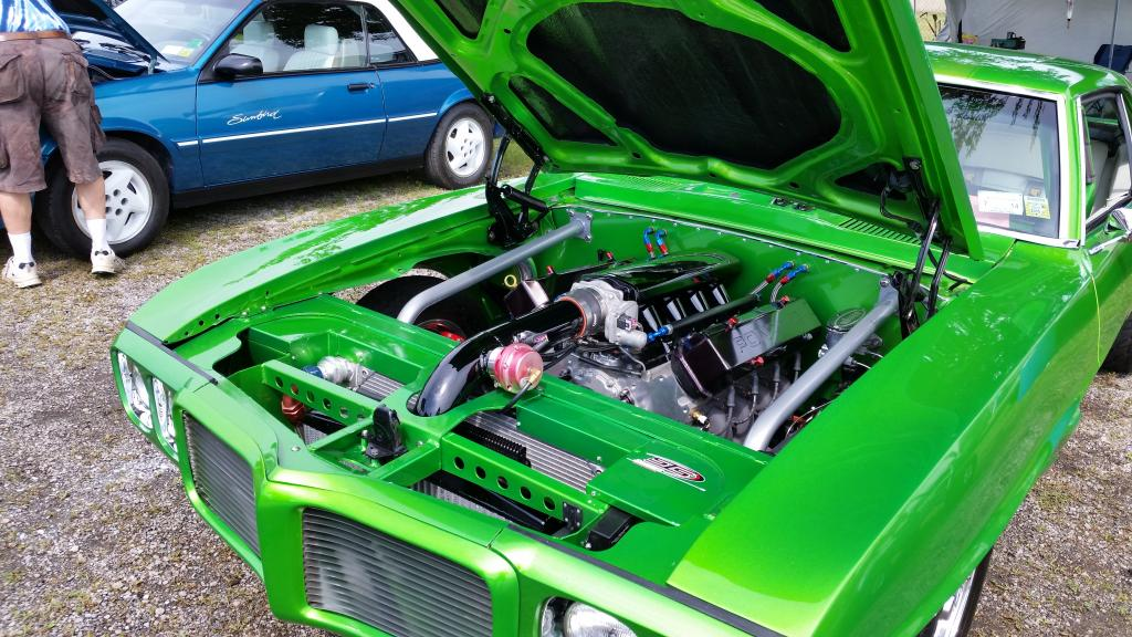 Amr - Bright green 69 resto mod