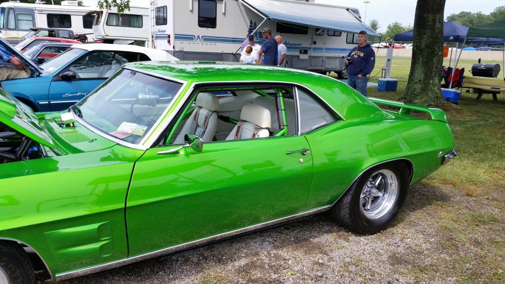 Amr - bright green 69 resto mod 3