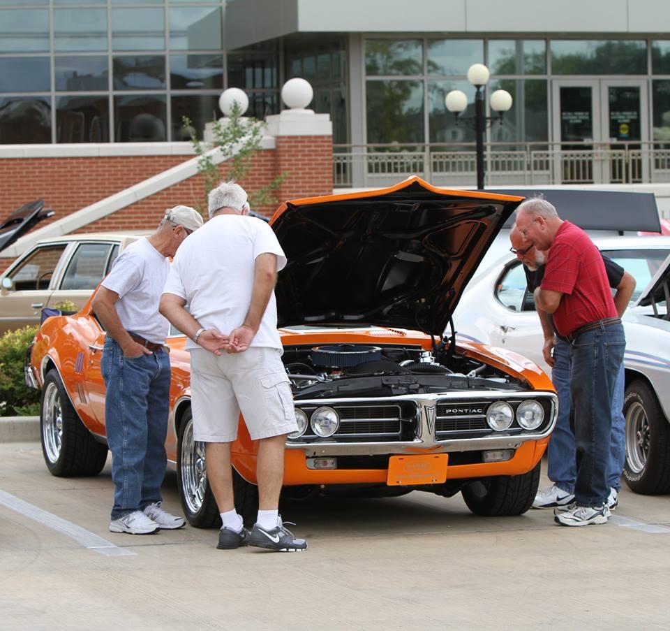 Tim Pontiac Museum Pauls car