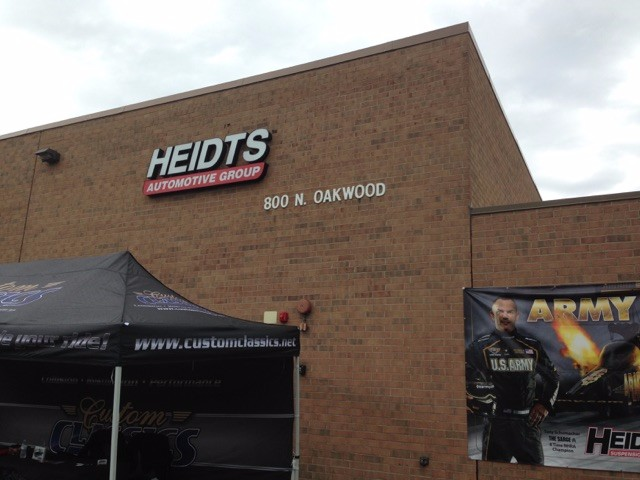 Hot Rod Power Tour 2015 – Heidts Performance Shop – Midwest