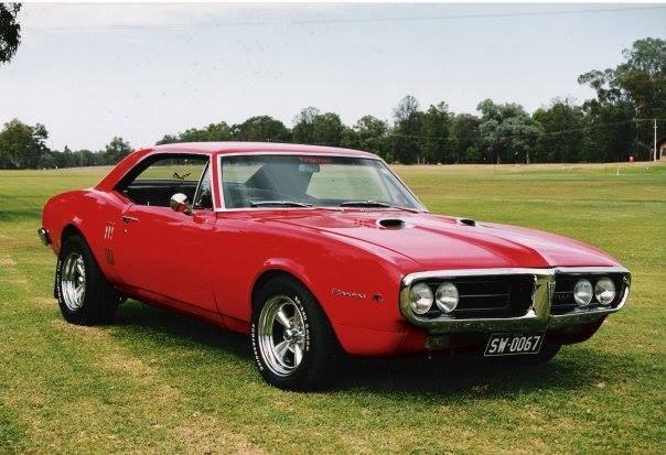 First Firebird 67 red