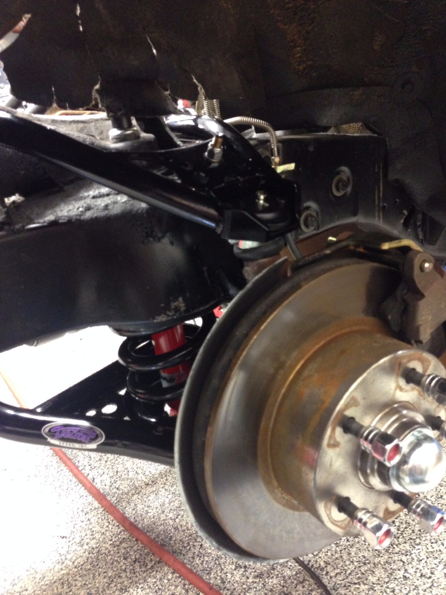 6.1  Front Disks and suspension