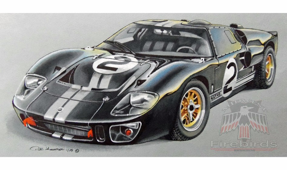 66 Ford GT40 Wtrmark