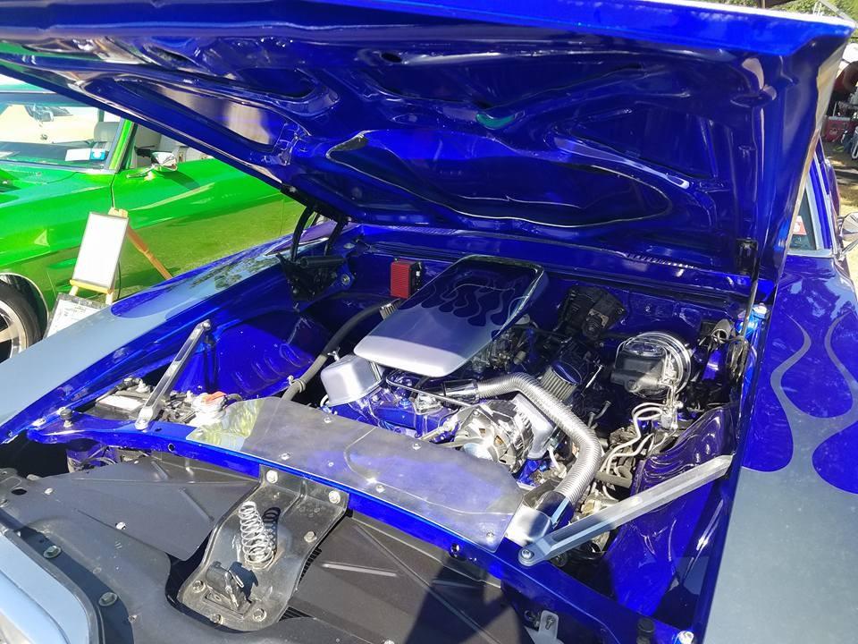 Ayh Money 69 blue engine