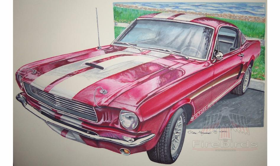Mustang GT 350 Wtrmrk