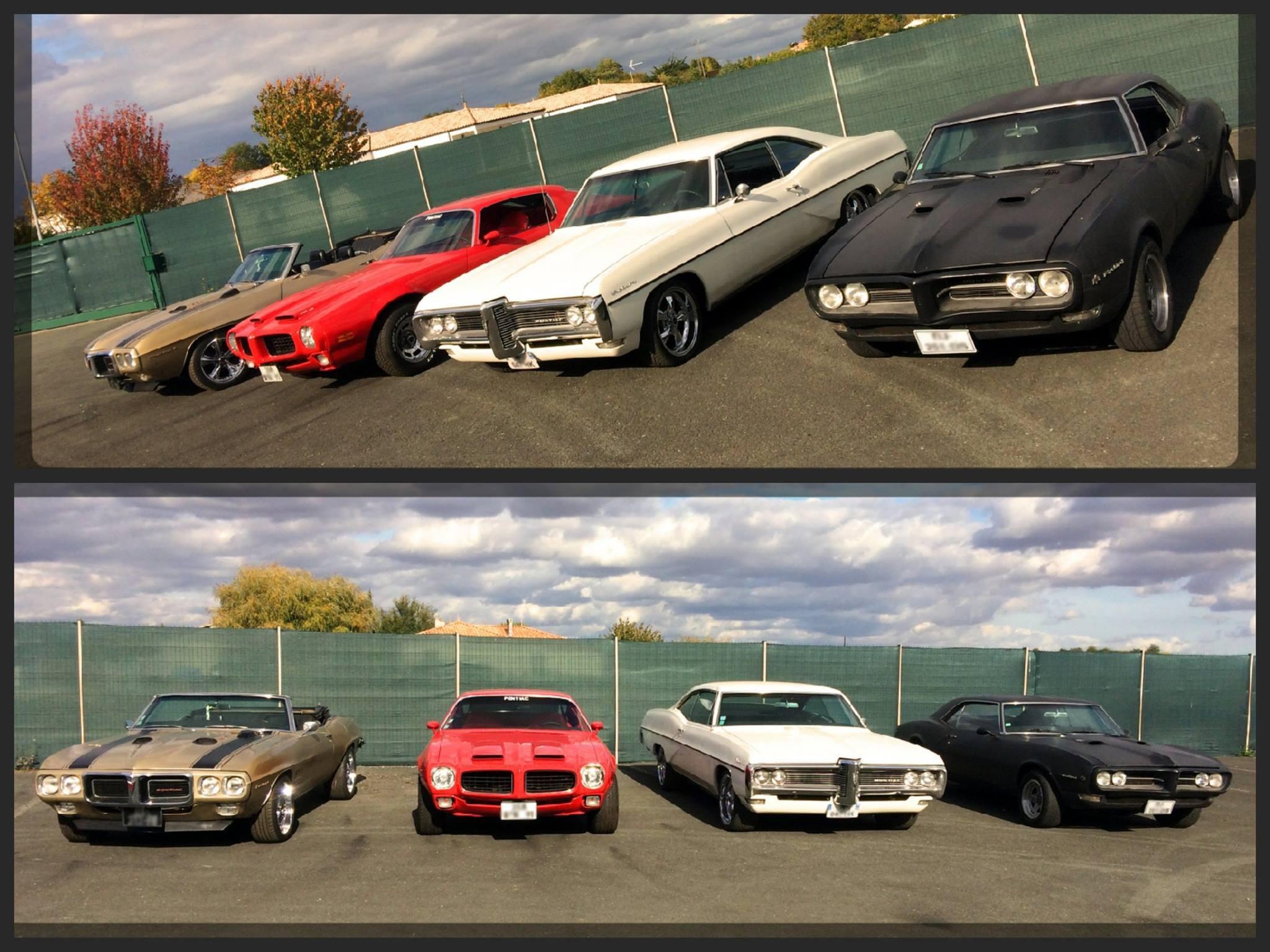 Four Pontiacs